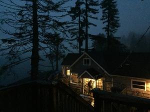 The house on the coast.