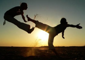 capoeira-por-do-sol