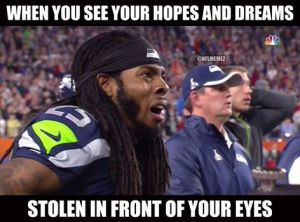 Every Seattle fan felt this at this moment.