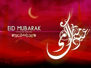 Eid is the holiday after Ramadan that marks the end of fasting.
